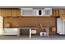 Underground / 3d images underground minimal house