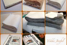 Nwespaper Cake
