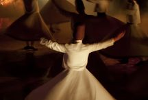 Mevlana.  I saw these whirling dervishes in Turkey.