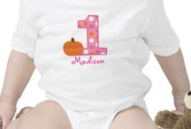 Personalized Onesies / These birthday adorable shirts can be personalized with any name.
