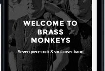 Brass Monkeys Web Site