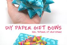 paper bows for presents