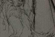 Sevgi's drawings