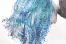 Hair - Blue
