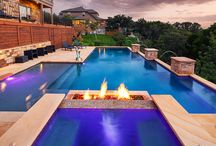 Geometric Pool Designs / Formal/geometric pool designs provide a slick modern look to your backyard. Here are some drool-worthy pictures of geometric pools.