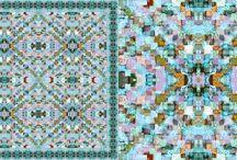 silk scarfs : URBAN.KA  Our life is pattern adventure - The Next Life of Enamel / http://www.urban-ka.com/