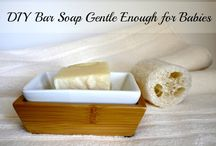 Natural Products & Remedies / A guide to homemade toiletries... deodorant, hand soap. bar soap, etc.