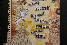 Collage / Collage technique ideas