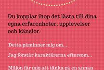Svenska - läsa