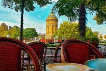 Cafe am Wasserturm / Cafe am Wasserturm - Diesmal ist mein Bild der Woche ein Bild das mit dem Handy Fotografiert wurde. Bin immer wieder überrascht was für eine Qualität man in der Hosentasche hat.