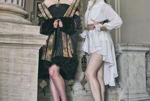 Back Yard Bird / Collection Couture de la Créatrice Adeline Ziliox