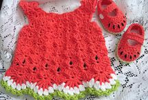 Crochet baby dresses / by Betty Burke