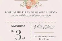 Paper Love Song / Custom invitations / by Angela Blackburn