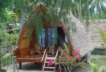 Arched nippa hut