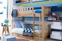 Boys bedroom ideas / bedroom decorating ideas