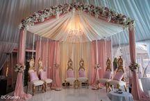 Düğünler dekor