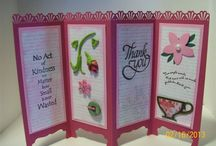 Pretty screen cards