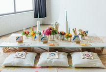 themed wedding: Paint your love
