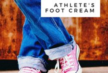 Happy Feet / Products that help care for your feet.