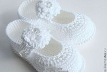 sapatinhos em croche