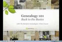 Genealogy Videos / Great videos on all things genealogy related.   / by Lisa Lisson