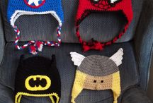 Super hero hats