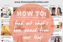 Blogging Advice/Tips