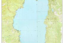 Lake Tahoe Maps / Cool old maps of Lake Tahoe.  We add a border and a title to make the maps more attractive.  These are available from our website in different sizes and prices.  We emphasize common frame sizes but they can be customized as the buyer desires--e-mail us if you don't see what you want!