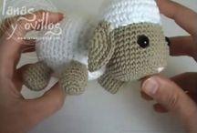 Amigurumi pecorella
