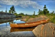Canoes and Tall ships