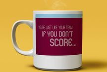 Personalised Football Mugs / Make a statement about your team with these unique football mugs. Made by fans for fans.  We're not affiliated to any clubs.