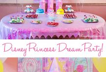 """Princess """"4"""" Party / Princess party ideas for 4th Birthday party"""