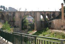 Alcoy y sus puentes / Los puentes son el principal rasgo por el que se identifica urbanísticamente Alcoy.
