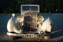 Rolls Royce Bridal Shoot Mood Board / Stylized Bridal Shoot in a 1937 Rolls Royce in Vancouver.