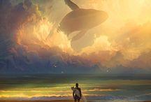 Ballenas voladoras / by Víctor Perezagua