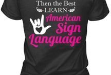 ASL/ Deaf Products