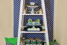 Sea Fever Nautical Party / We love the sea. Anything water is always inspiring.