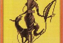 Вышивка / Схемы, эскизы, выполненные работы