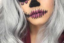 maquillaje de hallowin