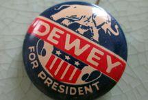 Vintage Political Campaign Buttons
