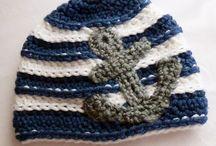 Crochet baby & character hats