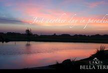 Sunsets at Lakes of Bella Terra