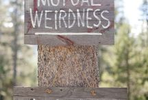 Signs / by Rustic Wedding