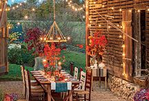 Fall Outdoor Fun / We love everything about fall! Here are some of our favorite things about fall all in one place.