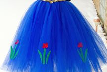 Frozen Tutu Dresses / Frozen costumes with a difference.