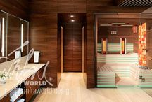 Individual combined sauna / If you, too, have a wardrobe-sized unbuilt space in your apartment, you should consider this custom-designed sauna as it might be just perfect for you.