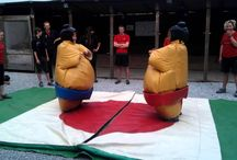 Instructors + sumo = funny!