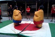 Instructors + sumo = funny!