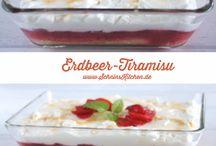 Erdbeeren tiramisu