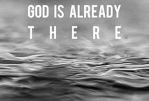 Scripture / God is my source.